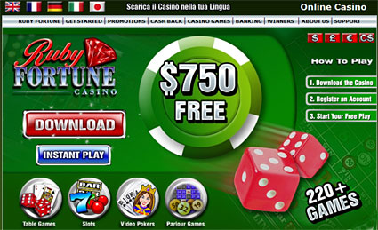 How to Find a Totally free Ruby Fortune Casino Slot Internet site